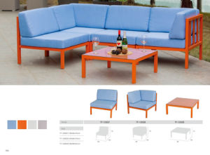 Fashion Colorful Rattan Wicker Corner Sofa