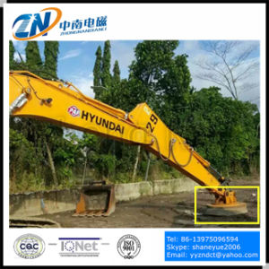 Circular Lifting Electromagnet for Excavator Installation with 1400kg Lifting Capacity Emw-130L/1 pictures & photos