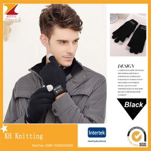 Acrylic Knitting Bluetooth Touch Screen Gloves pictures & photos