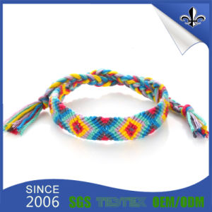 Custom Cheap Polyester Fabric Wristband for Party pictures & photos
