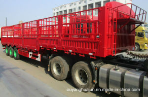 L: 13 Meters H: 1.6m, Van Type Container Semitrailer pictures & photos