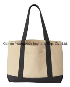 Promotional Custom Reusable 100% Organic Cotton Shopping Tote Bag pictures & photos