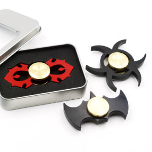 Black Batman Fidget Spinners Aluminum Portable Hand Spinners pictures & photos