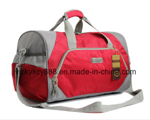 Waterproof Fitness Travel Outdoor Sports Basketball Duffel Bag (CY3674) pictures & photos