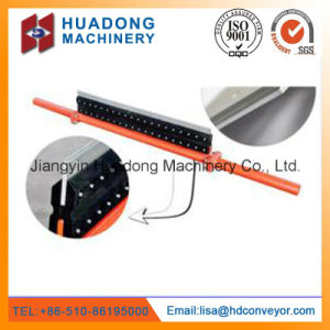 Durability V-Plough Belt Cleaner for Bulk Material Handling System by Huadong pictures & photos