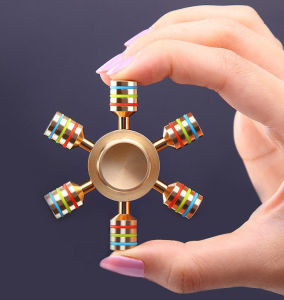 Popular metal fidget spinner hand spinner pictures & photos