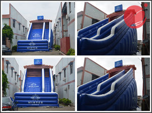 2017 Hot Sale 0.55mm PVC Tarpaulin Inflatable Products/Super High Slide (T4-239) pictures & photos