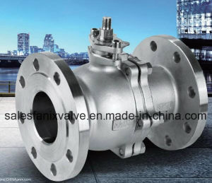 GB Flanged Ball Valve (FLOATING BALL) pictures & photos