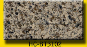 Sparkle Calacatta Quarz Slab for Kitchen Countertop pictures & photos
