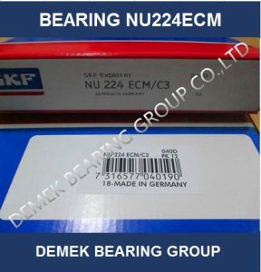 High Speed Cylindrical Roller Bearing Nu224 Ecm with Brass Cage pictures & photos