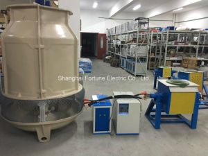 Small Capacity IGBT Medium Frequency Induction Furnace for Melting Iron Steel Copper Aluminum pictures & photos