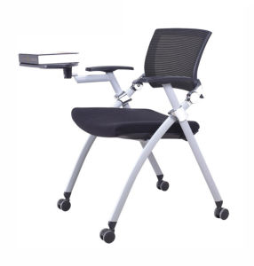 Red Color School Library Lab Folding Fabric Training Chair (NS-5CH022) pictures & photos