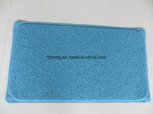 Suction PVC Loofa Bath Mat Shower Mat Floor Mat Europe Market pictures & photos