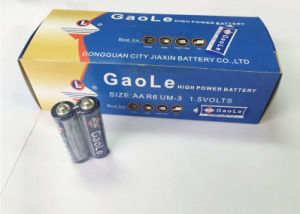 1.5V AA Carbon Zinc Battery (R6P) in Box Packing pictures & photos