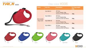 China Xcho Retractable Dog Leash/Lead pictures & photos