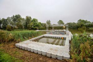HDPE Dam Fish Farming Modular Floating Cube pictures & photos