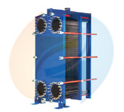 B350 Plate Heat Exchanger