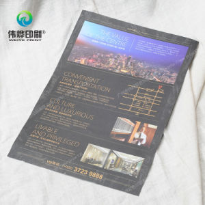 Paper Offset Printing Promotional Flyers (for Real Estate) pictures & photos