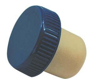 Plastic Cap Synthetic Cork Wine Bottle Stopper (TBPS20)