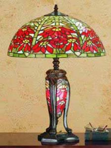 tiffany table lamp with lighting glass base and metal base tls256 16. Black Bedroom Furniture Sets. Home Design Ideas