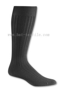 Mens Wool Rib Dress Socks pictures & photos