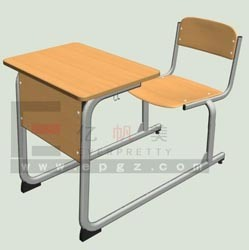 Tables and Chairs for Education/Attched School Table Chairs for Sale pictures & photos