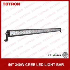 "Totron Single Row 50"" 240W LED Light Bar (TLB5240) pictures & photos"