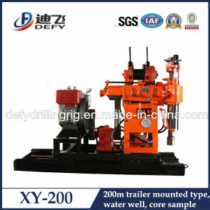 Mining Core Sample Drilling Rig Max. 200m, Vertical Drilling pictures & photos