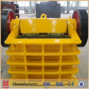 Yuhong ISO9001 & CE Approved Jaw Stone Crusher Machine Price pictures & photos