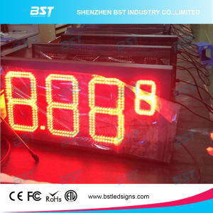 Outdoor High Brightness Weatherproof LED Fuel Price Sign pictures & photos