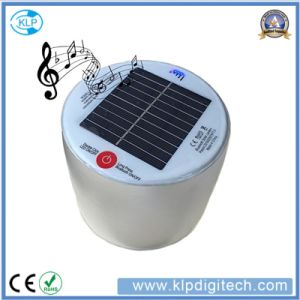 Hiking Camping Solar LED Lantern with Bluetooth Speaker Enjoy Music pictures & photos