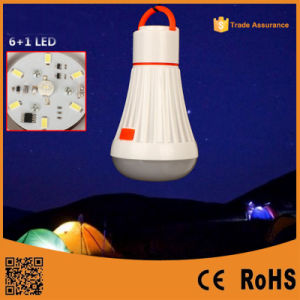 Multi-Function Ce Rechargeable Flashlight/Outdoor Emergency LED Camping pictures & photos