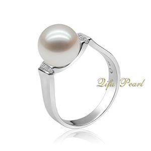 925 Silver Freshwater Fine Pearl Jewellery Ring (RA0405)