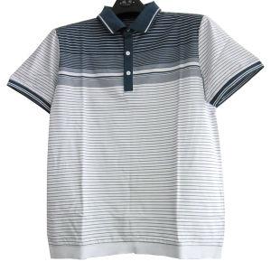 Men′s Double Mercerized Cotton T-Shirt (11CH-5049)