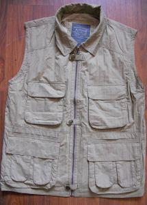 Men′s Woven Garment Meb′s Vest 100% Cotton Vest