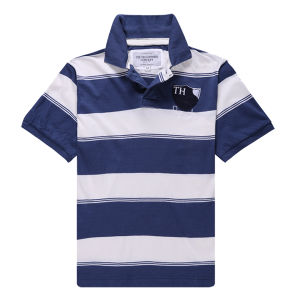 Cheap CVC Short Sleeve Uniform Polo Shirt pictures & photos