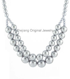 Fashion Accessories with Pearl Beads (OJNK-31464)