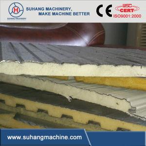 Discontinuous PU (Polyurethane) Sandwich Panel Machine pictures & photos