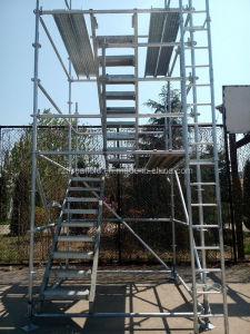 "30""X9"" Ringlock Scaffold Stair Tread pictures & photos"