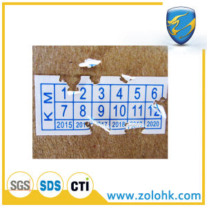 Cheap Security Breakable Sticker, Breakable Labels, Self Destroying Security Sticker, Eggshell Label Printing Paper
