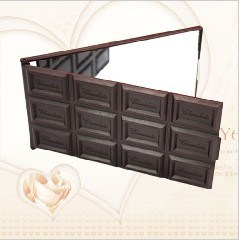 Chocolate Shaped Mirror