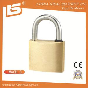 High Quality Brass Padlock Outdoor Padlock Security Padlock - Mach 3 pictures & photos