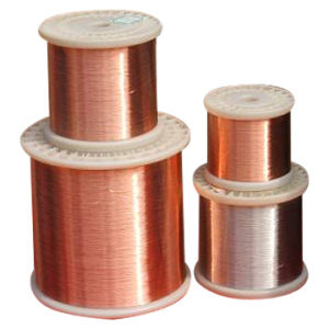 Copper Clad Aluminum Wire (CCA0.10-2.05mm) pictures & photos