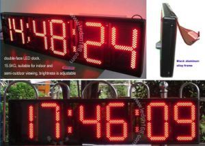 LED Display (Semi-outdoor 6 digits 14 inches LED clock display)
