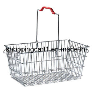 Metal Shopping Basket (XYB-032)
