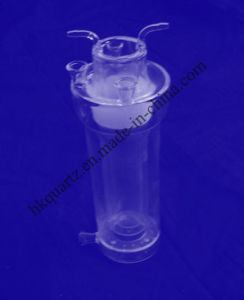 Quartz Condensing Bottles, Quartz Effusion Bottles, Quartz Entire Liquid Collection Bottle pictures & photos
