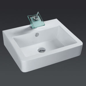 Classical Ceramic Cabinet Basin (6506) pictures & photos