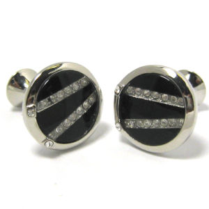 High Quality Fashion Metal Men′s Cufflinks (H0036) pictures & photos