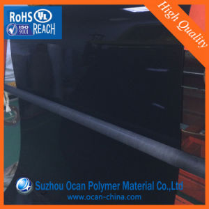 0.25mm Thickness Gloss Black PVC Sheet for UV Offset Printing pictures & photos
