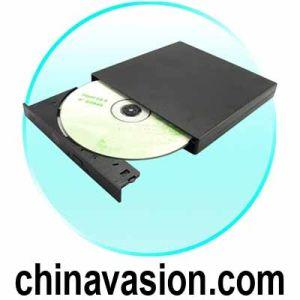 External DVD-R/W Burner - Portable USB 2.0 Drive